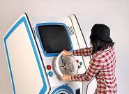 多功能创意洗衣机 能当街机玩