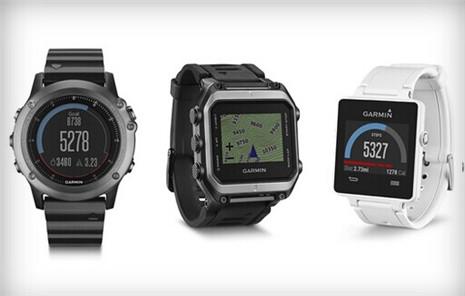 佳明智能手表亮相2015CES展 不仅仅是一块