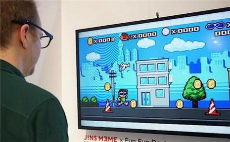 JINS Meme智能眼镜:通过眼球追踪玩游戏