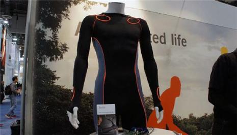 能建立3D运动模型的XelfleX智能服装