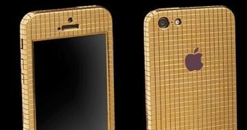又惊着了!镶钻iPhone6上市 起步价26万元