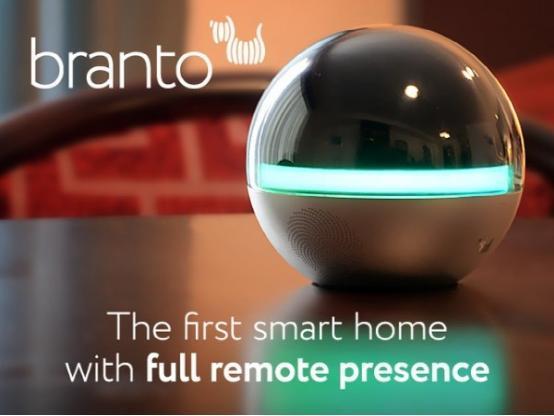 Branto:可旋转360度智能家居监控摄像头