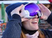 RideOn智能护目镜:滑雪的好帮手