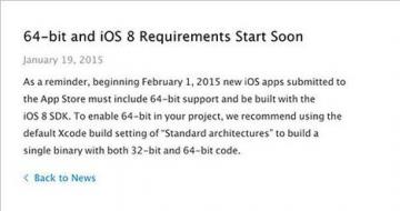 2015年6月1日起,App Store采用iOS 8 SDK进行开发