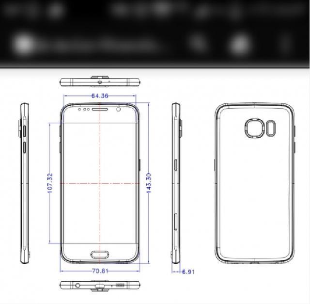 与iphone6比薄 三星Galaxy S6赢了?