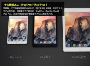 A9处理器配触控笔?iPad Plus十大猜测