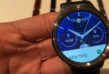 华为首款智能手表Huawei Watch亮相 小伙伴们感觉怎样?