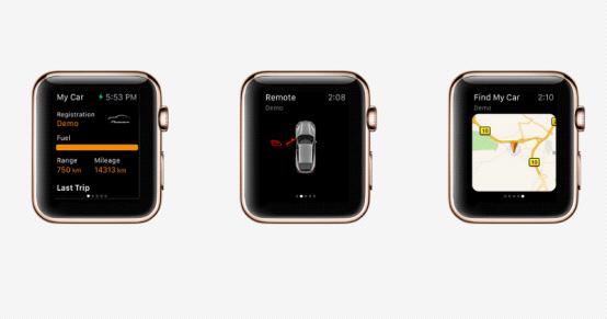 更智能更方便的生活!智能手表遥控汽车