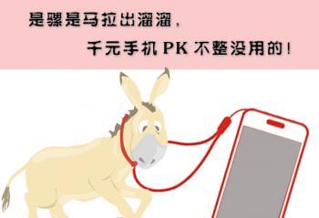 是骡是马拉出溜溜,千元手机PK不整没用的!