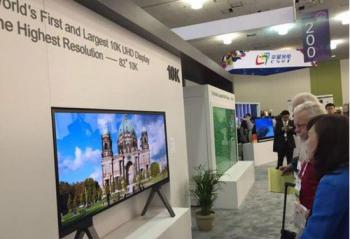 震惊世界!中国发布10K分辨率电视屏幕