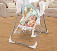 四合一电动婴儿摇椅   直正做到智能