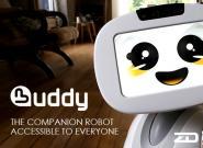 呆萌的Buddy机器人,你最好的贴心伙伴