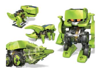 玩具也可以是机器人 给孩子一个好伙伴!