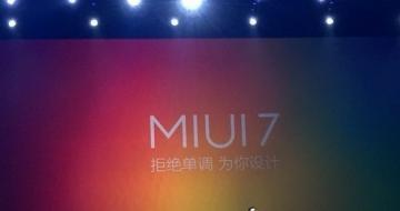小米MIUI 7发布 又快又省电/明日升级