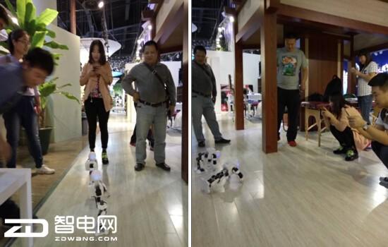 优必选机器人入驻智电网智能体验馆 引众多网友围观拍照!