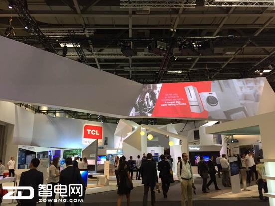 """中国制造的""""创新担当"""" TCL冰箱洗衣机IFA上使""""洪荒之力"""""""