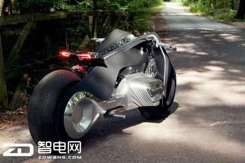 如此酷炫!宝马发布概念摩托车 里面还有一台计算机