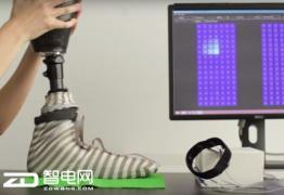 这双袜子好神奇 能让假肢也有触觉