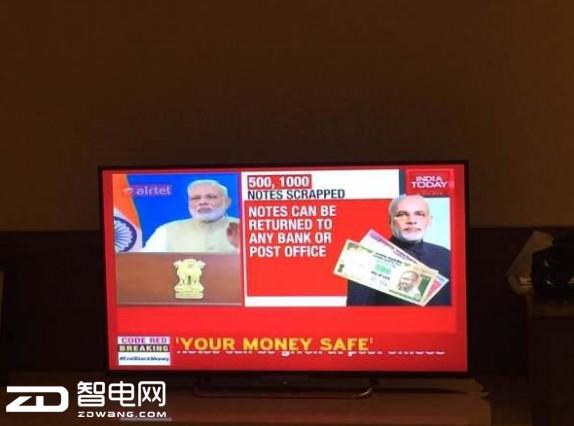 资讯快车:印度废除大面值纸币 电子钱包叫好