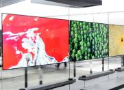 LG OLED电视发布:真是薄如纸 不过要卖5万多
