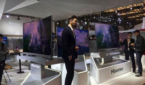 AWE2017展会:海信携最新激光电视等亮相