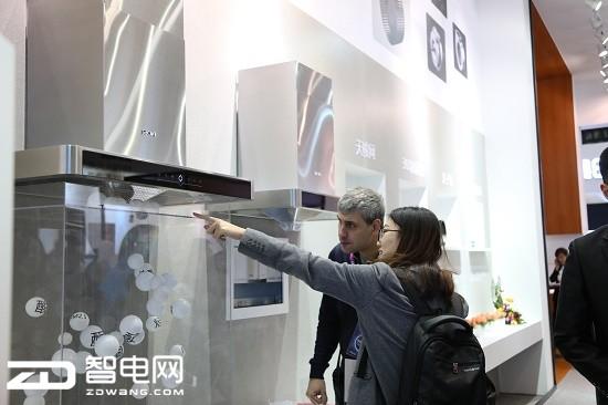 多项独创技术发布  帅康厨电新品闪耀AWE展