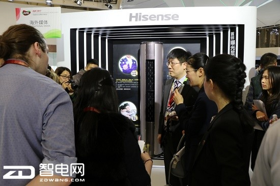 2017AWE中国家电艾普兰揭晓:海信空调摘得创新奖