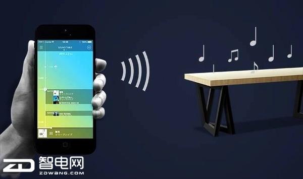能放音乐报天气的智能餐桌诞生 生活更有情趣