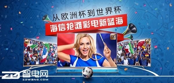 从欧洲杯到世界杯 海信抢滩彩电新蓝海
