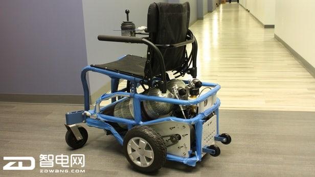 PneuChair防水轮椅:10分钟可充满电 靠压缩空气驱动