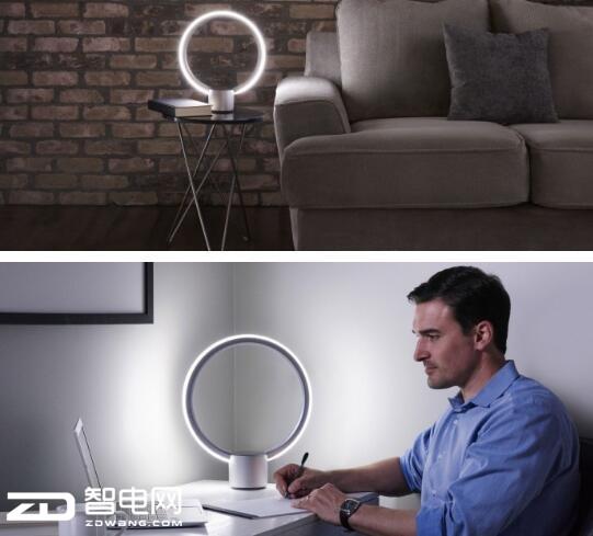 圆形智能台灯Sol曝光 内建亚马逊语音助手Alexa