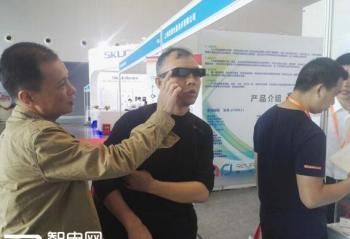 科幻AR眼镜 半秒捕猎目标