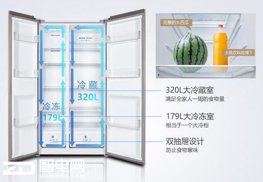 TCL BCD-499WEF1 499升 直降800元 低至2499元
