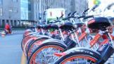 以后可以骑皮皮虾上班了!北京惊现虾红色共享单车