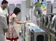 高温天来袭空调扇热卖 老人和儿童应该尽量少用