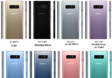 科技来电:集齐八种颜色的三星Note 8就能召唤Boom 7?