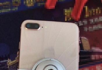 该来的总会来 iPhone 8 Plus完成全球首碎任务
