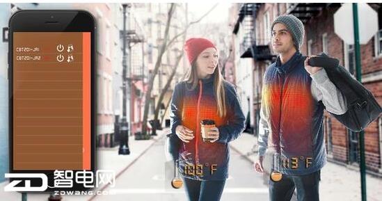 冬季户外出行不可少!这款智能加热夹克给你带来温暖