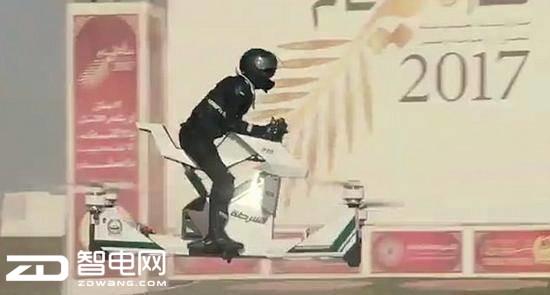 土豪城市迪拜警察新座驾,不怕堵车会飞的摩的