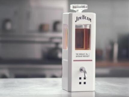 威士忌推全球首款智能玻璃酒杯 售价34.90 美元
