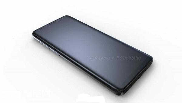 三星S9最新渲染图曝光 说好的窄下巴呢?