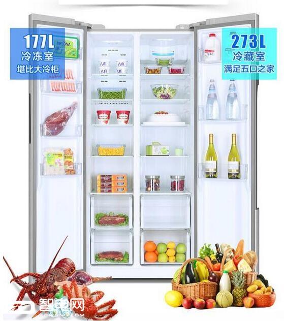 嵌入式对开门冰箱来临  还是TCL对开门冰箱最亲民