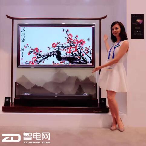 康佳CES2018刮起中国风  艺术与科技兼备