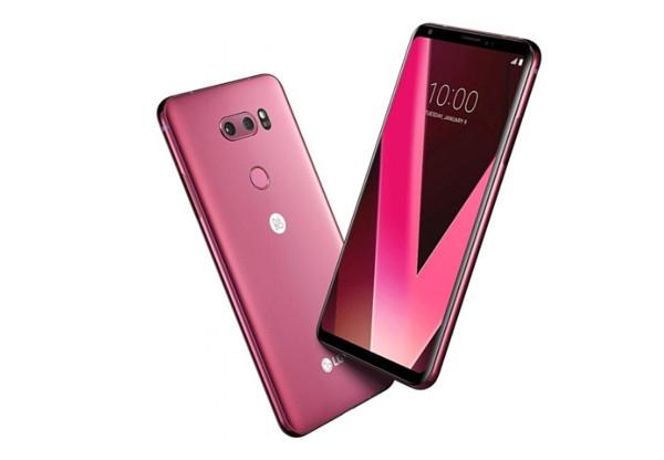 科技以换壳为本 LG在CES2018上推全新配色V30手机