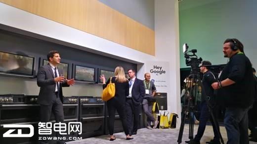 CES展上GE Appliances展美国版海尔智慧厨房