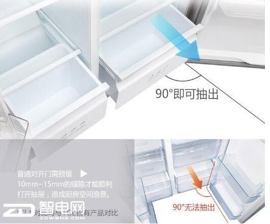 TCL515升超大容量冰箱 轻松储存一周所需的食材