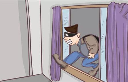 有了门窗传感器 小偷还敢继续撬窗撬门