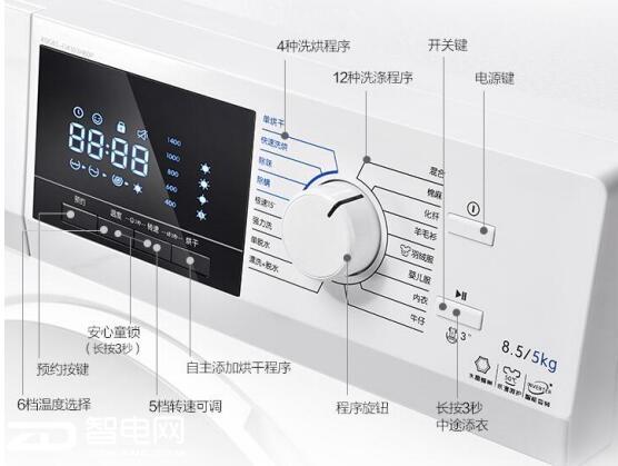 2018年置办年货不用愁 TCL 8.5 洗烘一体滚筒洗衣机是首选