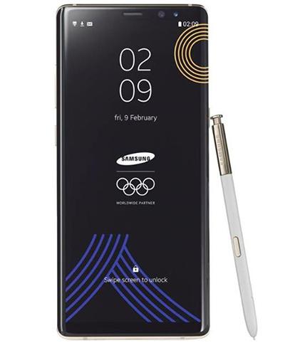 为迎接平昌冬奥会 三星推出Note 8奥运限量版