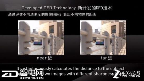 松下DFD技术依然是反差对焦,但是可以像相位检测一样预判位置